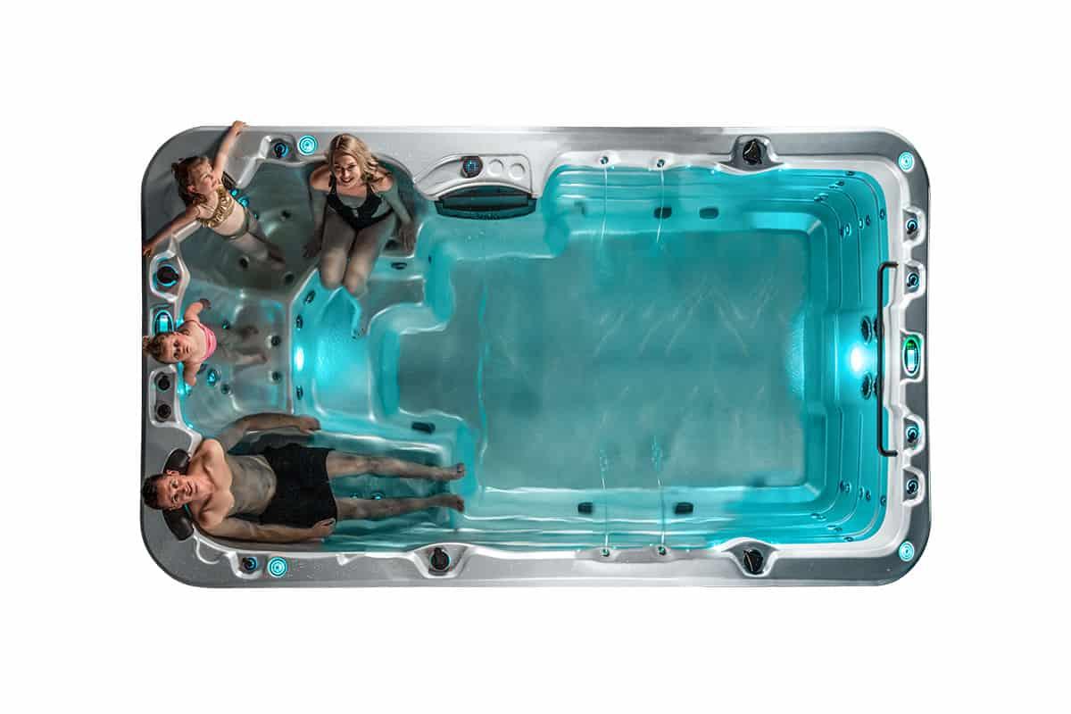 Aqualounge swimming spa Kettering