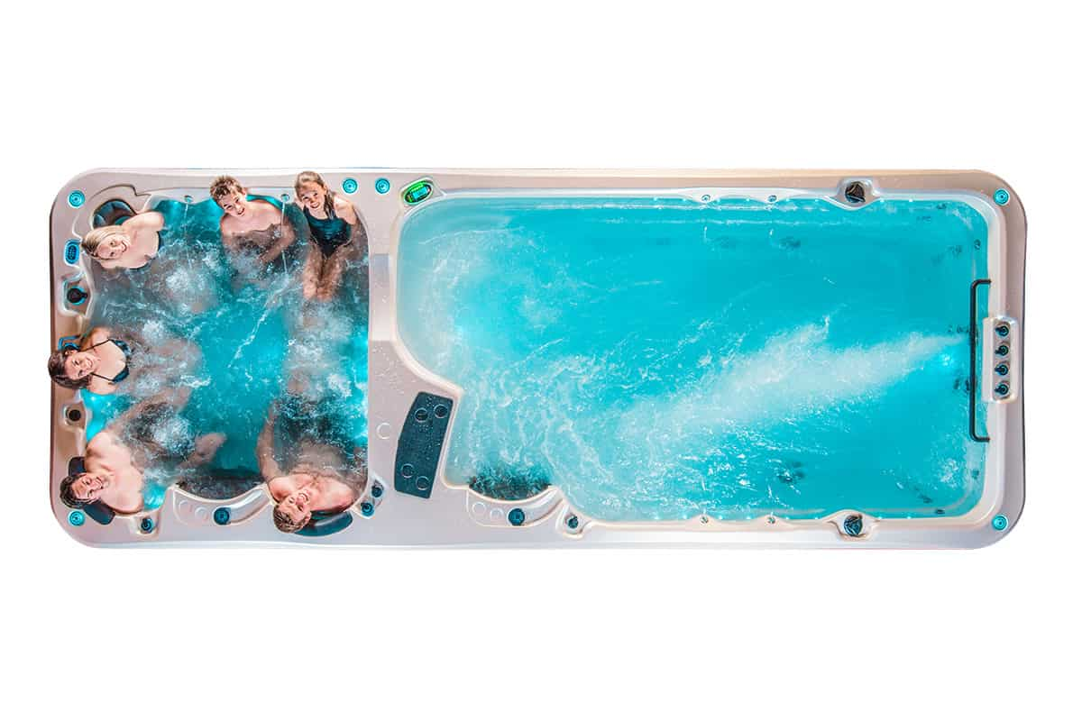 Hydrozone Kettering Swim Spa Showroom
