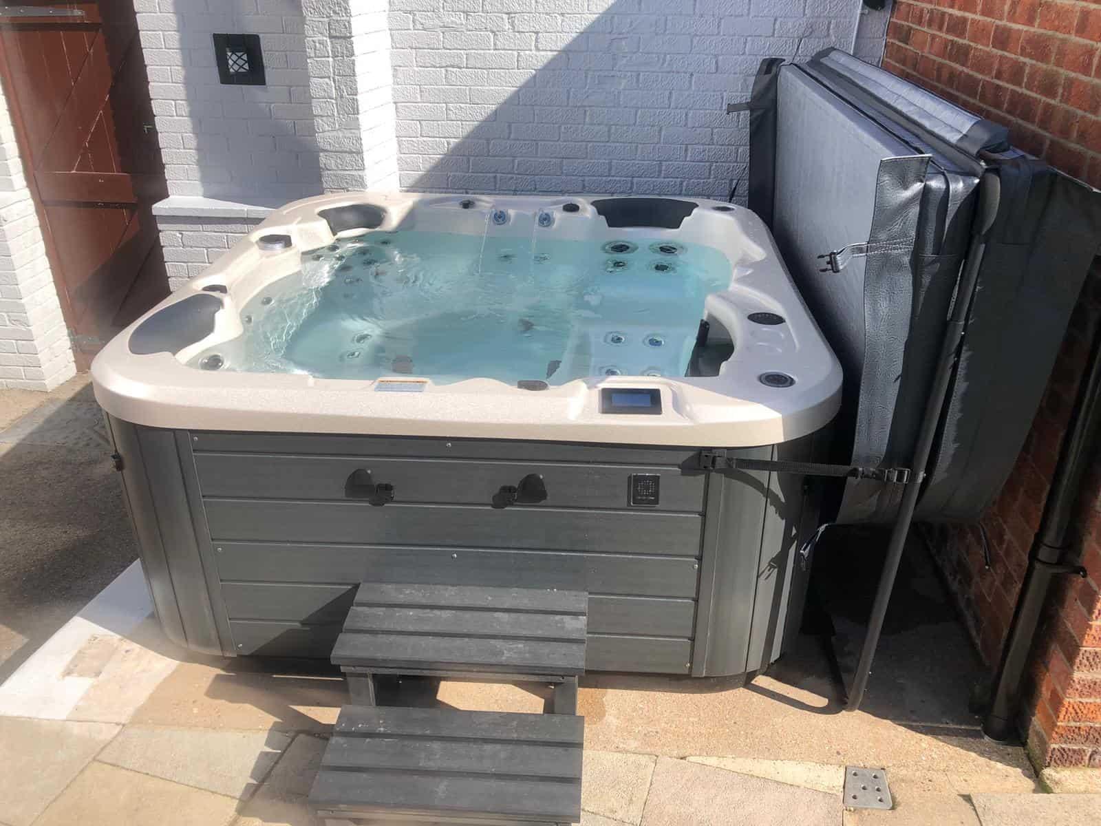 Kettering hot tub installation