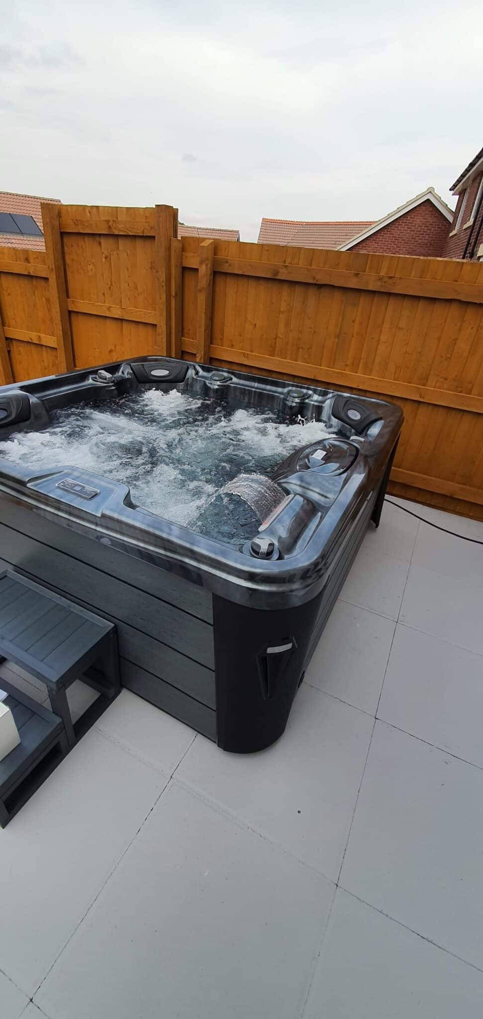 Kettering hot tub clients
